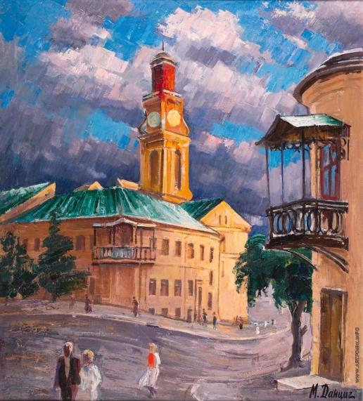 Данциг М. В. Витебск. Ратуша