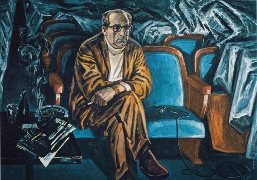 Данциг М. В. Портрет Г.А. Товстоногова, Народного артиста СССР
