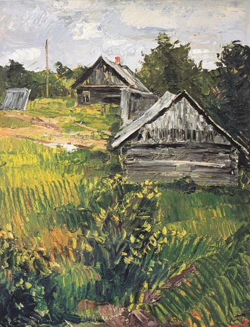 Данциг М. В. Лето в деревне