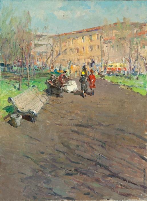 Данциг М. В. На бульваре