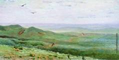 Васнецов А. М. Оренбургские степи