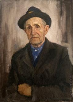 Кротов Ю. Портрет художника Полугаева Георгия Алексеевича