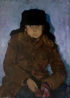 Кротов Ю. Мальчик в шапке-ушанке