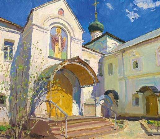 Кротов Ю. День Пасхи. Новоспасский монастырь