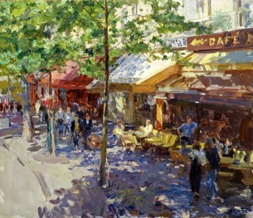 Кротов Ю. Кафе на бульваре Oсман
