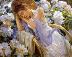 Кротов Ю. Мечты в саду
