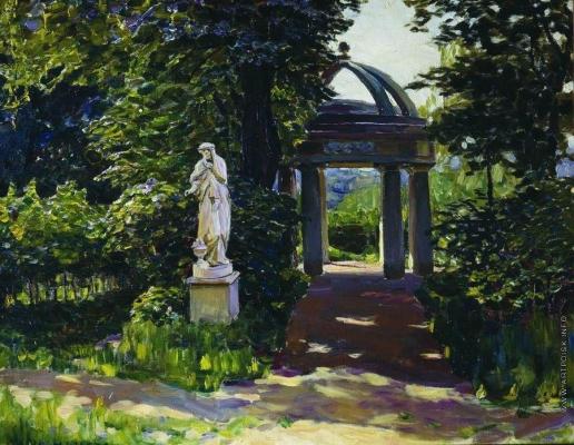 Васнецов А. М. Ротонда Миловида в Найденовском парке. Москва