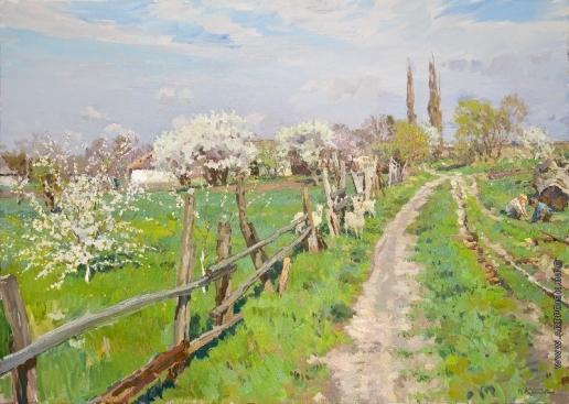 Кротов Ю. Весна в Гривенской