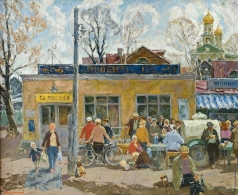 Кожанов Н. В. Переделкино. Первые дни мая