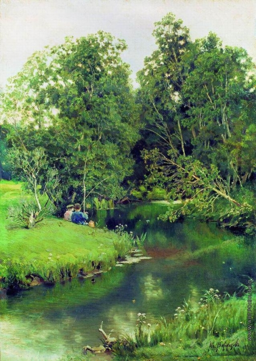 Васнецов А. М. Рыбаки. 1886-