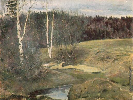 Остроухов И. С. Последний снег