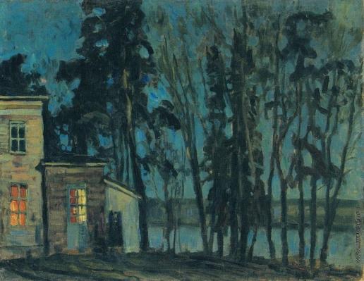 Жуковский С. Ю. Июньская зеленая ночь