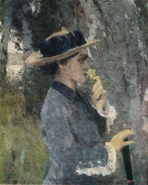 Герасимов С. В. Портрет А.Г. Герасимовой, жены художника