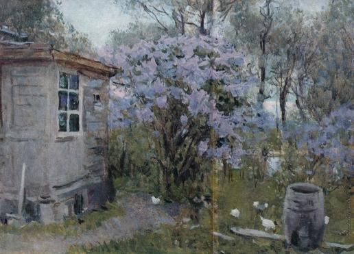 Герасимов С. В. Сирень в цвету