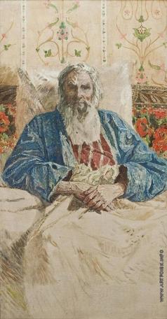 Мазитов А. Н. Портрет скульптора Коненкова
