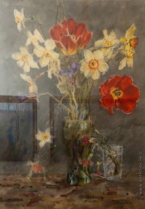 Мазитов А. Н. Нарциссы, тюльпаны