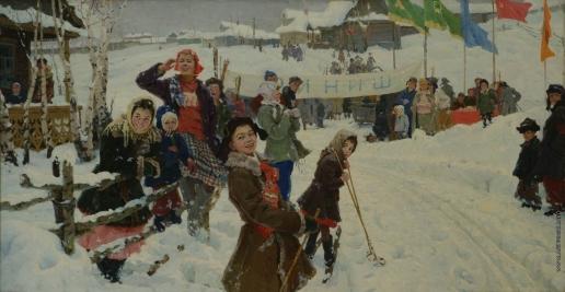 Мазитов А. Н. У финиша