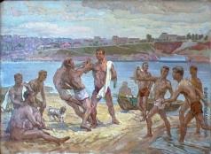 Сверчков Н. К. Молодежь на Волге