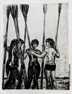 Ройтер М. Г. Девушки с веслами