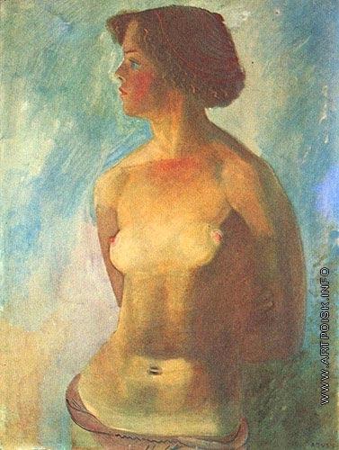 Пахомов А. Ф. Девушка на солнце