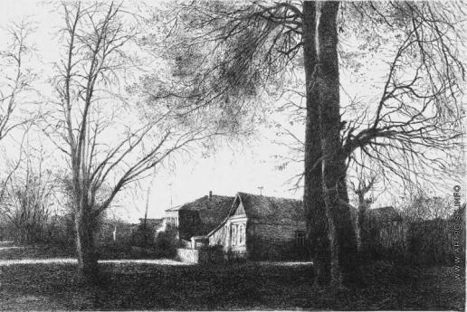 Французов Б. Ф. Осенние деревья