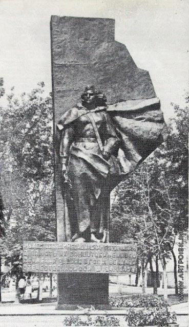 Клиндухов Н. Н. Памятник медицинским работникам,погибшим Великой Отечественной Войне в Калуге