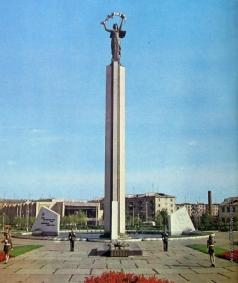 Клиндухов Н. Н. Площадь Победы в Калуге