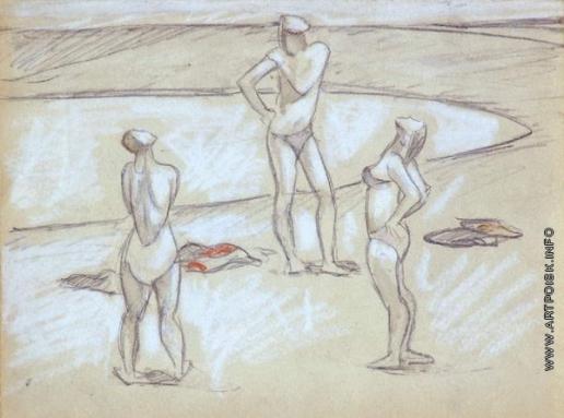 Сойфертис Л. В. На пляже