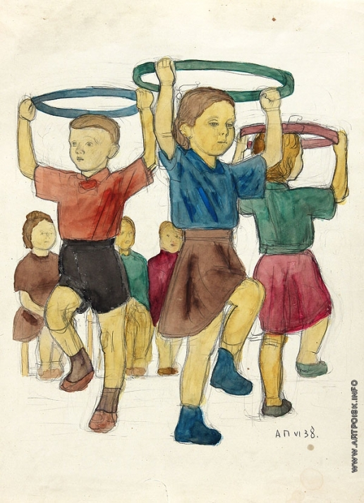 Пахомов А. Ф. В детском саду