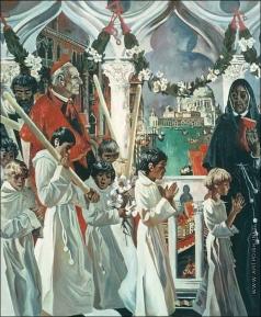 Блиок А. Н. Венецианские контрасты - 3