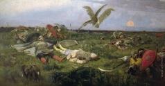 Васнецов В. М. После побоища Игоря Святославича с половцами