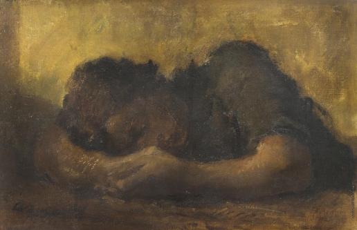 Яковлев А. Е. Спящая женщина