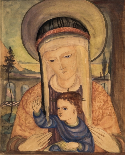 Васильева М. И. Мадонна с младенцем