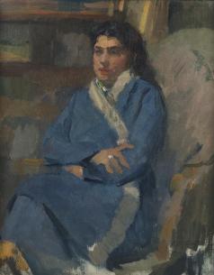 Павиль И. А. Портрет дочери Лины