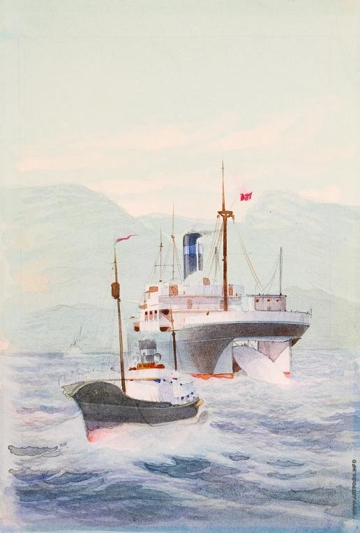 Тамби В. А. Китобойная база «Алеут»