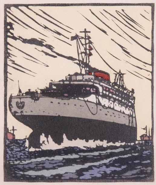 Тамби В. А. Многопалубный корабль