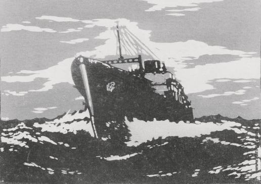 Тамби В. А. Грузовой пароход