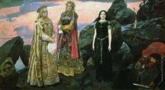 Васнецов В. М. Три царевны подземного царства