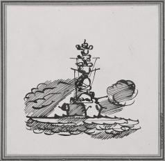 Тамби В. А. Военный корабль