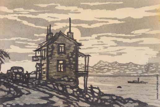 Тамби В. А. «Вечер на берегу» (обложка)