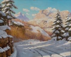 Бессонов Б. В. Яркий зимний день в горах