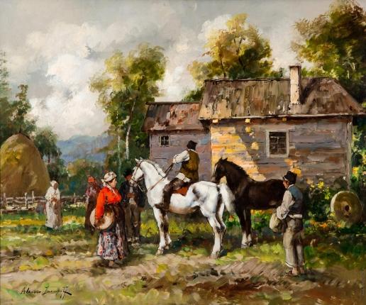 Исупов А. В. Крестьяне в сельской местности Италии