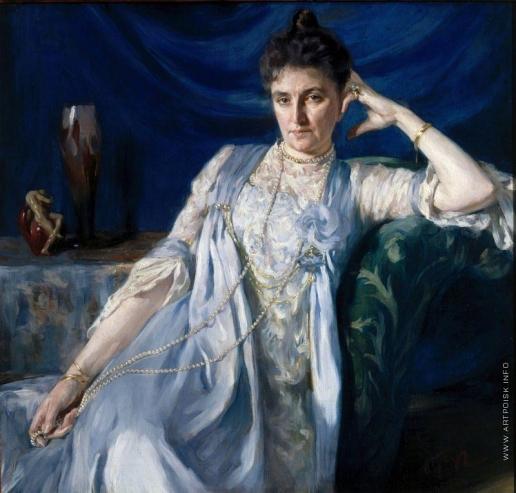 Браз О. Э. Портрет графини Е.М. Толстой