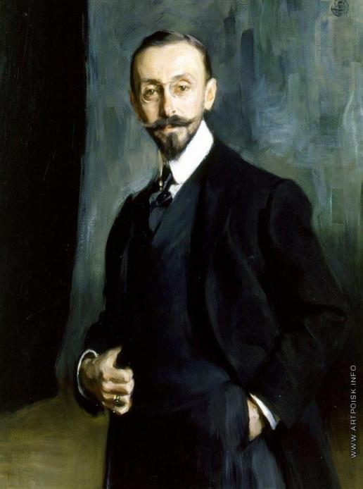 Браз О. Э. Портрет графа Д.И. Толстого