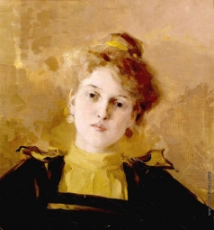 Браз О. Э. Портрет молодой женщины