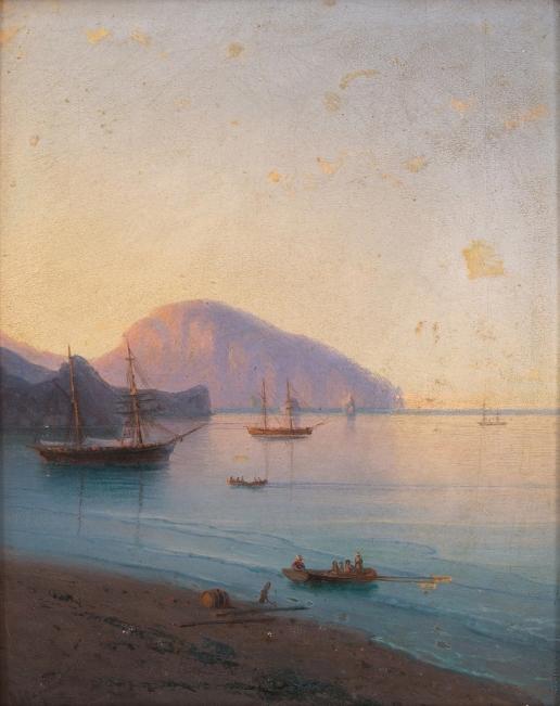 Айвазовский И. К. Тихое утро на море
