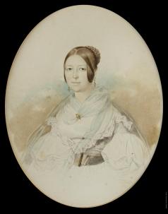 Гау В. И. Женщина в белом
