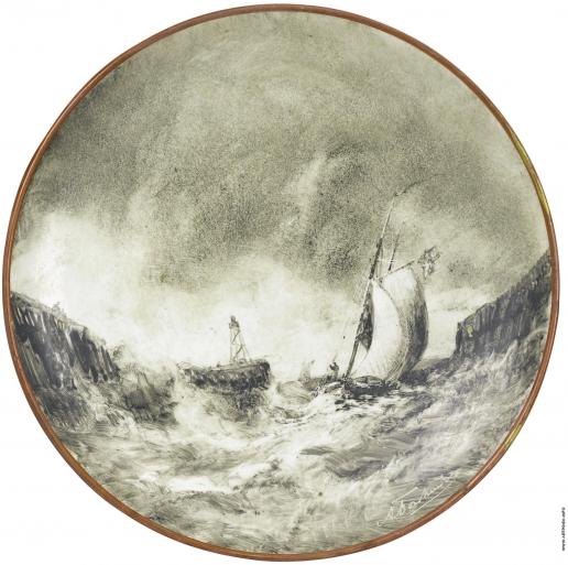 Боголюбов А. П. Морская сцена