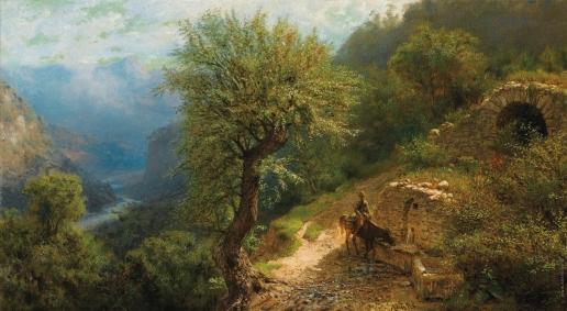 Лагорио Л. Ф. Всвдник на Кавказе