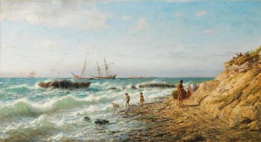 Лагорио Л. Ф. Берег Черного моря